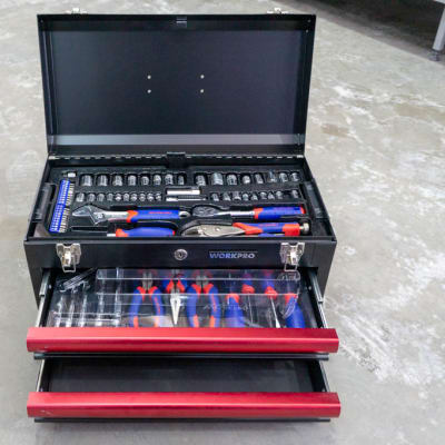 Workpro 76 Piece Tool Kit image