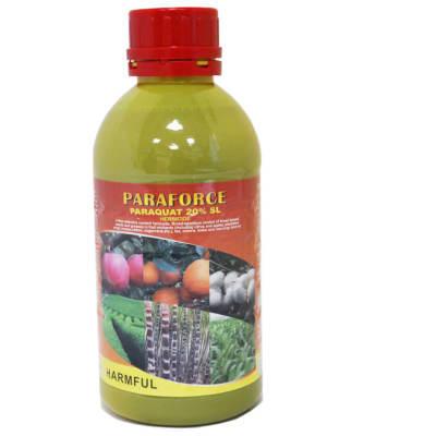 Weed Killer Paraforce Paraquat 20% Sl -  1 Litre  image