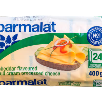 Cheese - Processed Cheddar Flavoured Full Cream image
