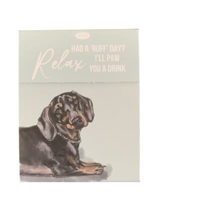 Paws For Thought Magnetic Notepad - I'll Paw You A Drink  image
