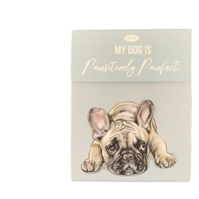 Paws For Thought Magnetic Notepad - My Dog Is Pawsitively Pawfect image