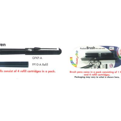 Pental Arts - GFKP Brush Pen  & FP10 Refills image