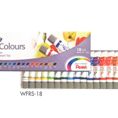 Pentel Arts - WFRS-18 Watercolour Paint - Water Colours image