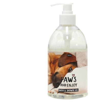 Pet Thoughts - Paws And Enjoy - Bath And Shower Gel image