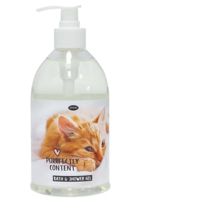 Pet Thoughts - Purrfectly Content - Bath And Shower Gel  image