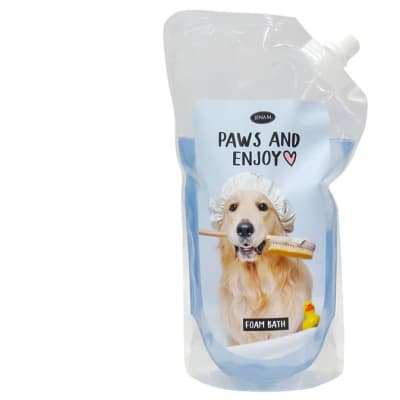 Pet Thoughts - Paws And Enjoy - Foam Bath image