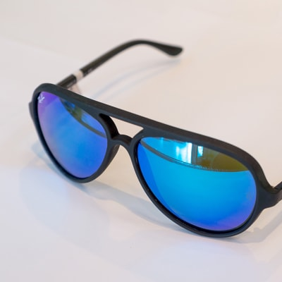 Ray-Ban Cats 5000 Classic Sunglasses, Matte Black image