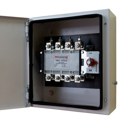 Power Distribution Equipment - 100A - 4Pole on Load Change Over Switch image