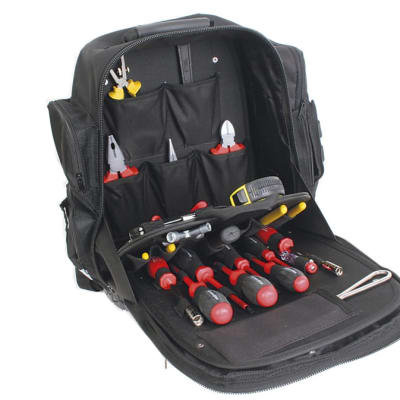 Tool Set - Backpack Toolkit Electrician's 32 Pieces image