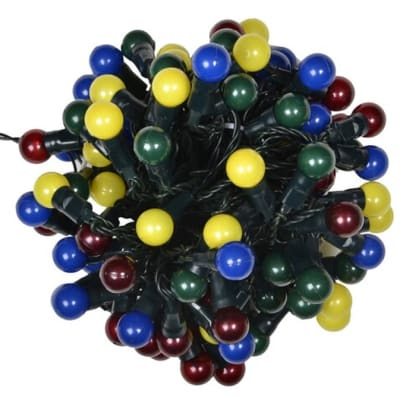 100 Multi Coloured Berry Lights image