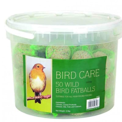 Bird Food - 50 Fat Balls Tub image