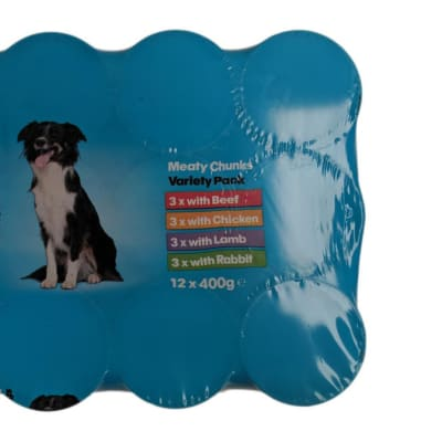 Dog Food - Dylan Chunks Dog Food Variety 12 x 400g image