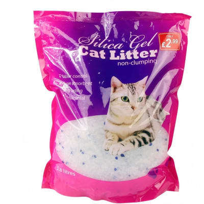 Pet Cleaning - Silica non-clumping cat litter 3.8l image