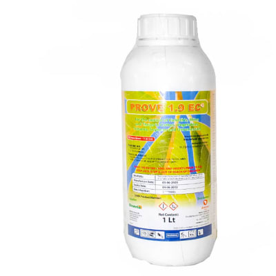 Prove 1.9 Ec  Emulsifiable Concentrate Emamectin Insecticide & Acaricide  1 Litre  image