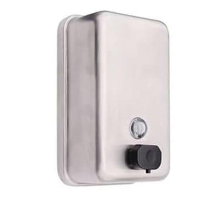 Hand Wash Steel Dispenser - Vertical image