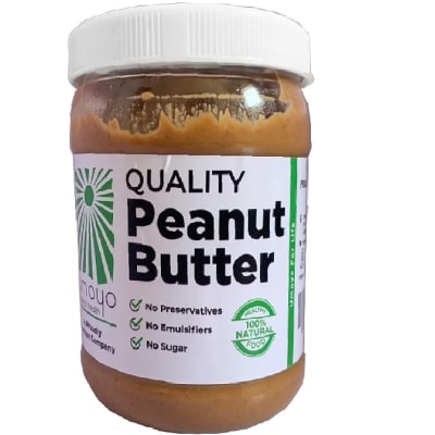 Quality Natural Peanut Butter  Sugar-Free & Preservative-Free  image