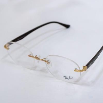 Ray-Ban Rimless Eyeglass Frames     image