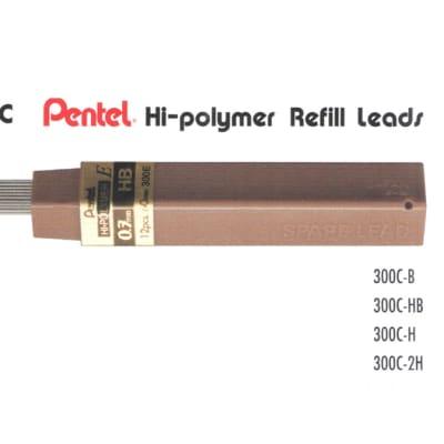 Refill Leads - 300 Pentel Hi-polymer Refill Leads image