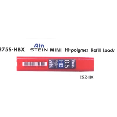 Refill Leads - C275S-HBX Ain Stein Mini Hi-polymer Refill Leads image