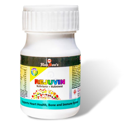 Hanson's Rejuvin  - Multvitamin +Multimineral image