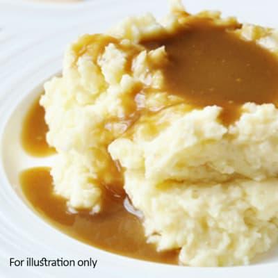 Barbeque Braai Menu - Hots - Mash Potato & Gravy image