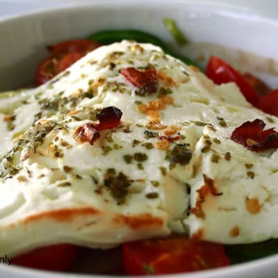 Simply Light - Pan Fried Feta with Chilli Jam image