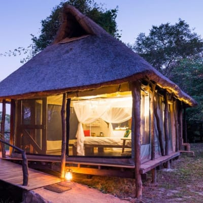 Tented chalets image