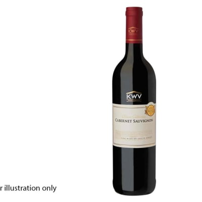 Wines By The Bottle - Red Wine - KWV Cabernet Sauvignon image