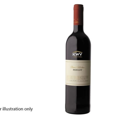 Wines By The Bottle - Red Wine - KWV Merlot image