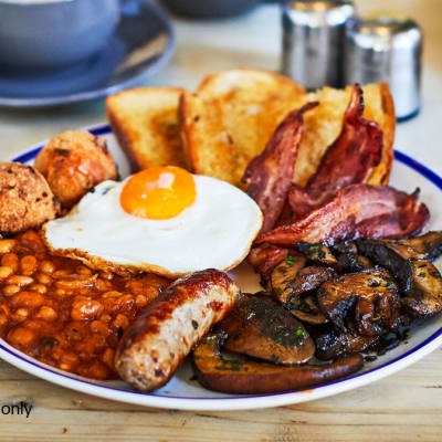 Breakfast Meals - Non–Residents Full English breakfast image