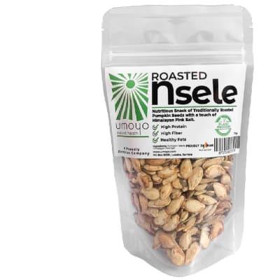 Roasted Nsele  High Fibre Pumpkin Seeds  image