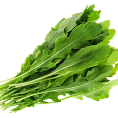 Rocket Leafy Vegetables Salad Greens image
