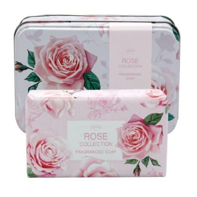 Soap Rose Flower's  Fragranced Soap in Tin image