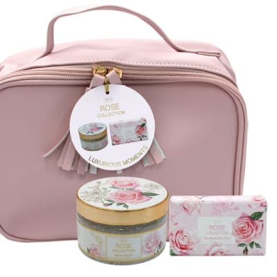 Rose Flower's By Jenam Luxurious Moments Cosmetic Bag  image