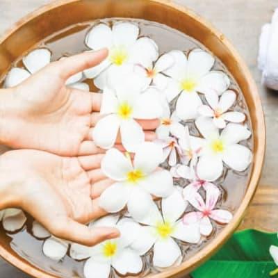 Poolside Foot Massage image