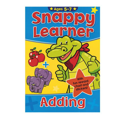 Snappy Learner Adding Activity Workbook Ages 5-7 image