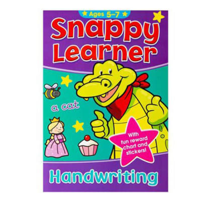 Snappy Learner Handwriting Activity Workbook  Ages 5-7 image