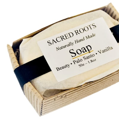 Sacred Roots Beauty Palo Santo & Vanilla Soap image