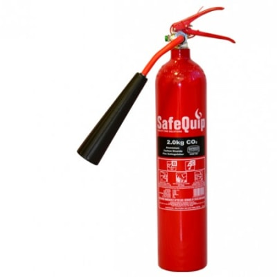 Aluminium Alloy 2kg CO2 Fire Extinguisher image