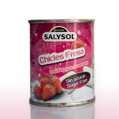 Salysol Chewing Gum Strawberry 30g image