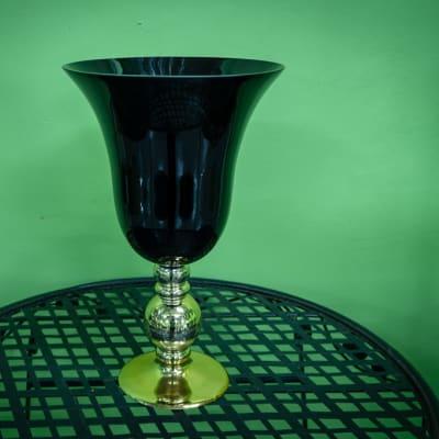 Gold-Black Vase image