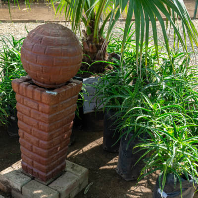 Sandy's Creations - Tuba Bricks Ball Water Fountain Wash  image