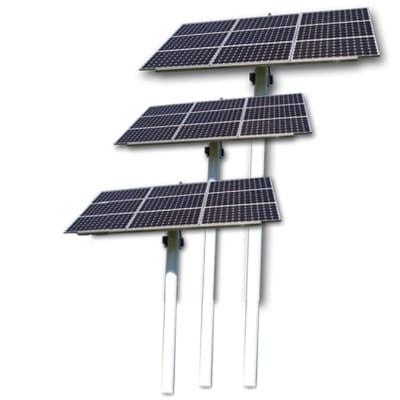 Solar Borehole Pumps Set - Solar panels image