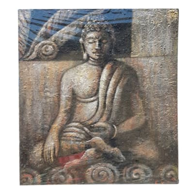 Buddha  Oil Painting  on Canvas image