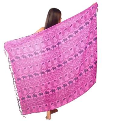Sarong   Wrap around Pink  image