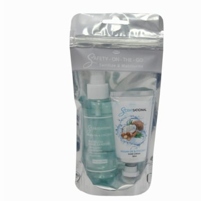 Scentsational Safety On The Go - Argan Oil & Coconut  image