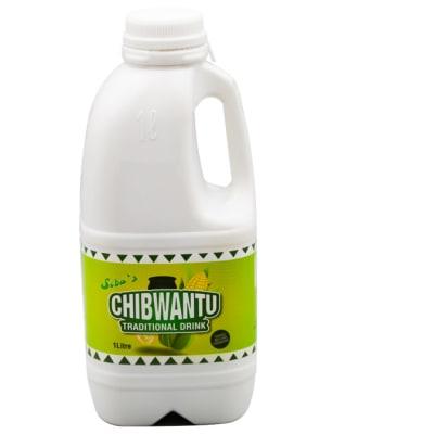 Chibwantu  Fermented  Maize Drink 9 X 1 Litre  image