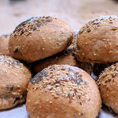 Tansi Kitchen -  Seeded Dinner Rolls 12'S image