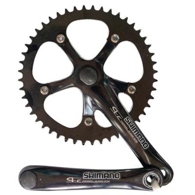 Bicycle Crank Shimano  Single-Speed Crank Nut Type  image