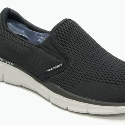 Skechers Dual Lite - Grey & white sneakers image